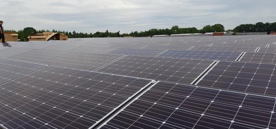 Foto bij Start montage zonnepanelen