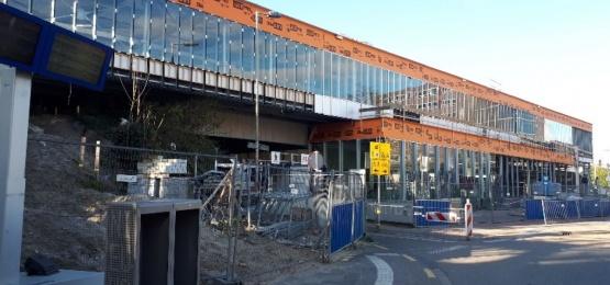 Foto bij Station Rotterdam Alexander